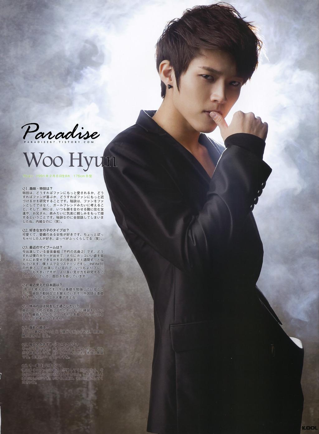 [2011.11.22] Entrevista Woohyun – Revista KOOL Kool11